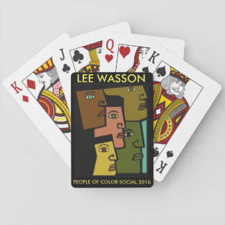 Lee Wasson Playing Cards