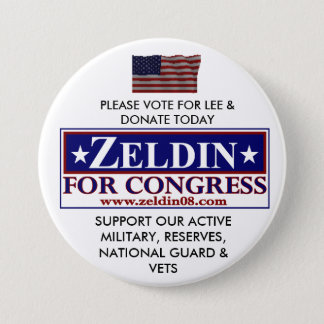 LEE ZELDIN FOR CONGRESS PINBACK BUTTON