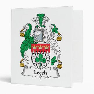 Leech Family Crest Binder