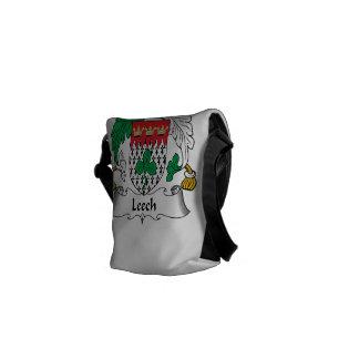 Leech Family Crest Courier Bags
