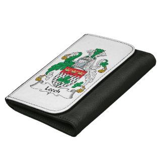 Leech Family Crest Leather Wallet For Women