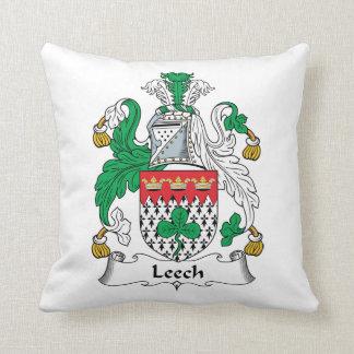Leech Family Crest Pillow