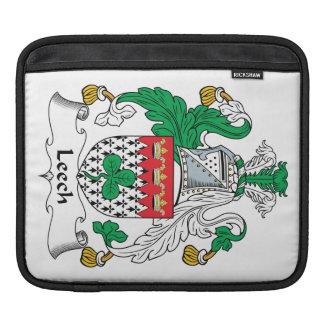 Leech Family Crest Sleeve For iPads