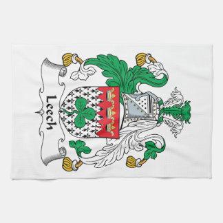 Leech Family Crest Towel