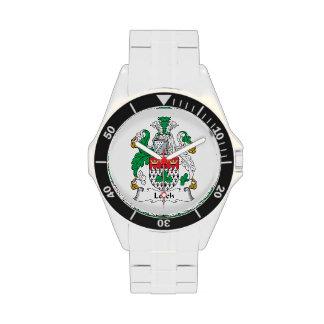 Leech Family Crest Wristwatches
