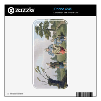 Leech Finders, from `Costume of Yorkshire' engrave Decals For The iPhone 4