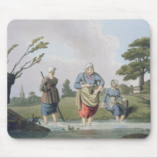 Leech Finders, from `Costume of Yorkshire' engrave Mouse Pad