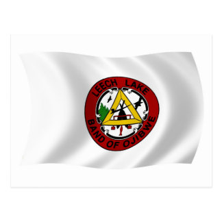Leech Lake Reservation Flag Postcard