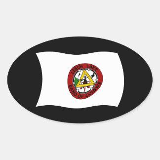 Leech Lake Reservation Flag Sticker