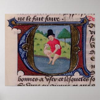 Leeching, from 'Traite de Medecine' Poster