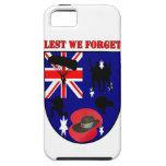 Leed We Forget Australian Diggers iPhone 5 Carcasas