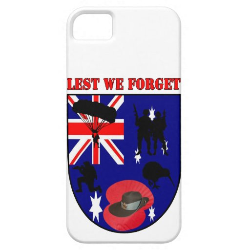 Leed We Forget Australian Diggers iPhone 5 Cárcasas