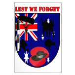 Leed We Forget Australian Diggers Tableros Blancos