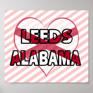 Leeds, Alabama Posters