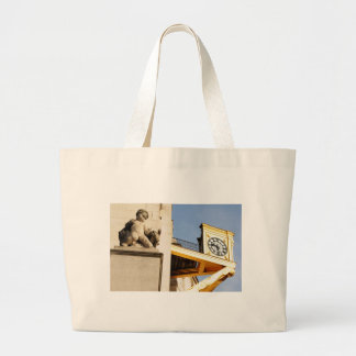 Leeds architecture large tote bag