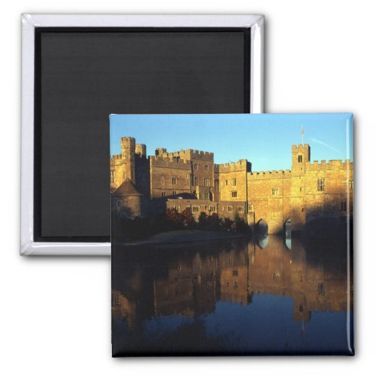 Leeds Castle, 12th c., Norman stronghold and Magnet