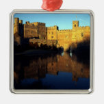 Leeds Castle, 12th c., Norman stronghold and Christmas Tree Ornaments