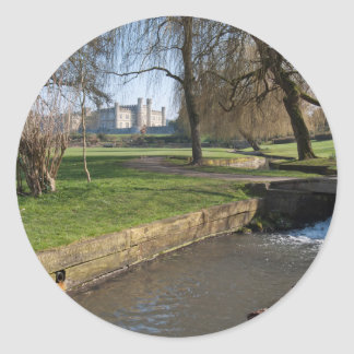 Leeds Castle Classic Round Sticker