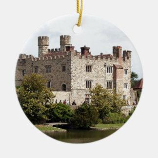 Leeds Castle, England, United Kingdom Ceramic Ornament