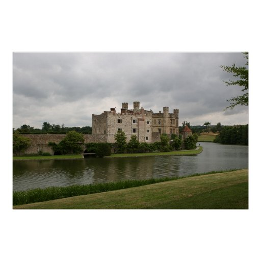 Leeds Castle in England Poster