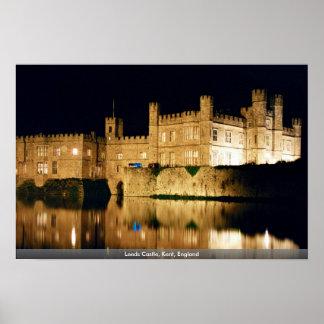Leeds Castle, Kent, England Poster