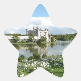 Leeds Castle Pegatina En Forma De Estrella