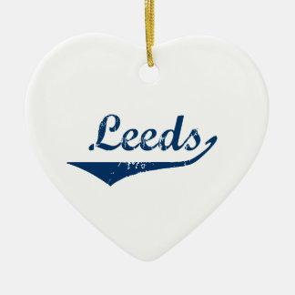 Leeds Ceramic Ornament