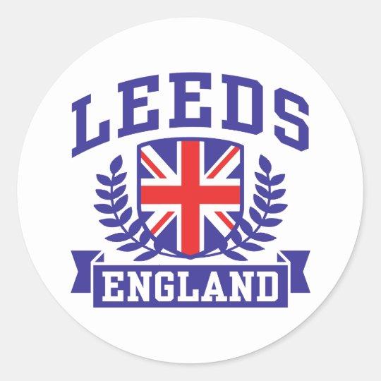 Leeds Classic Round Sticker