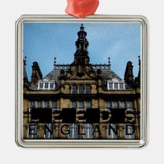 Leeds Metal Ornament