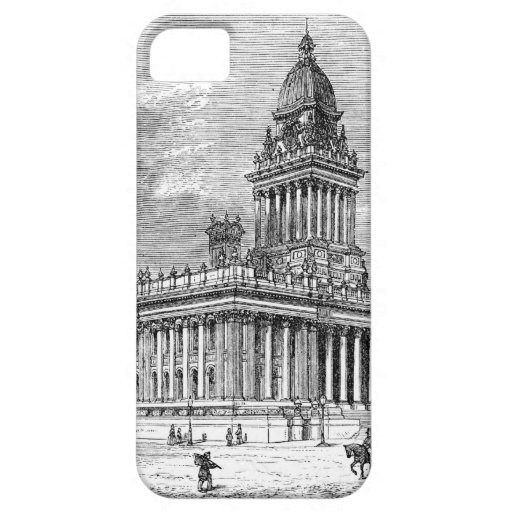 Leeds Townhall Funda Para iPhone 5 Barely There