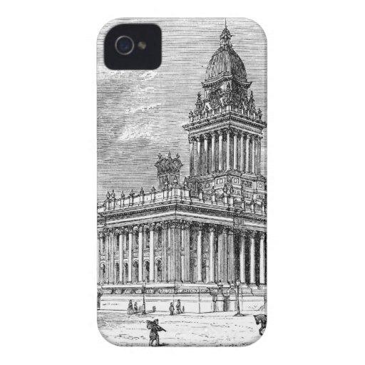 Leeds Townhall iPhone 4 Case-Mate Fundas