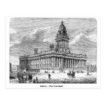 Leeds Townhall Tarjeta Postal