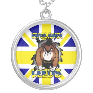 Leeds Union Jack Silver Necklace