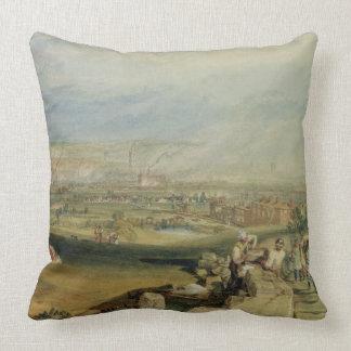 Leeds (w/c on wove paper) throw pillows