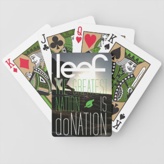 Leef Card Deck