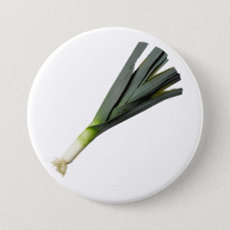 Leek badge for St.David's Day Button