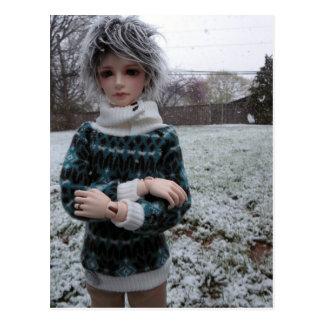 Leekeworld Min, Asian Ball-Jointed Doll Postcard