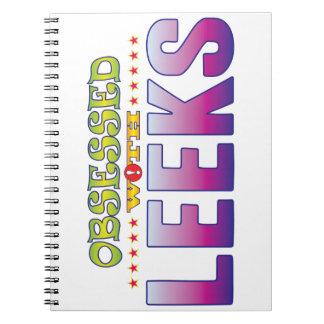Leeks 2 Obsessed Notebooks