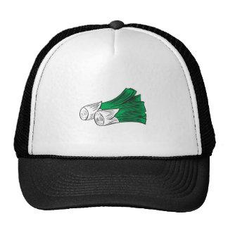 leeks trucker hat