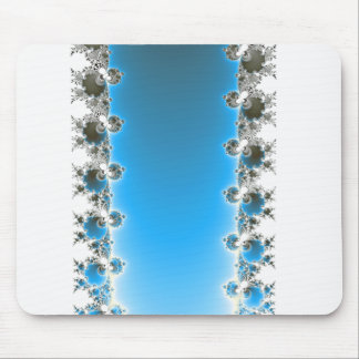 Leenece - Blue Fractal Mouse Pad