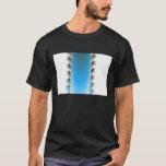Leenece - Blue Fractal T-Shirt