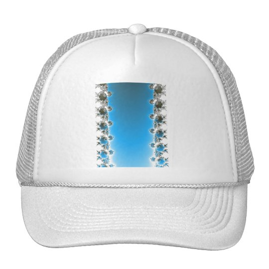 Leenece - fractal azul gorra