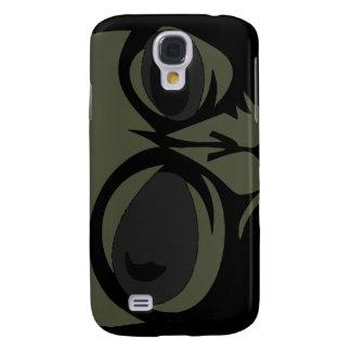 Leering eyes alien face customizable samsung s4 case