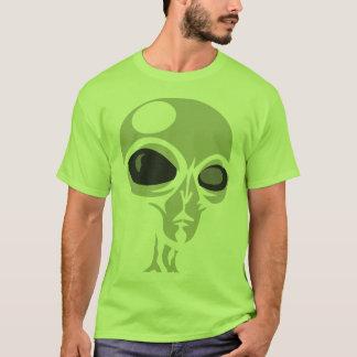 Leering eyes alien face customizable T-Shirt
