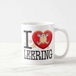 Leering Love Man Classic White Coffee Mug