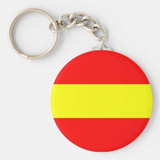 Leersum, Netherlands Basic Round Button Keychain