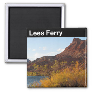 Lees Ferry National Monument 2 Inch Square Magnet