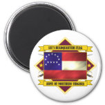 Lee's Headquarters Flag 2 Inch Round Magnet