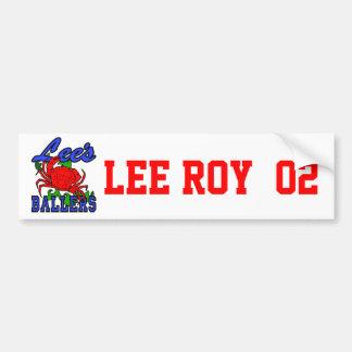Lee's Memorial Gear Bumper Sticker