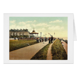 Lee's Promenade and Bandstand, Folkestone, England Card